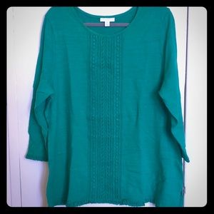 XXL Charter Club Emerald Green Top